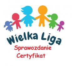 Sprawozdanie z realizacji projektu Certyfikat Wielkiej Ligi Czytelników