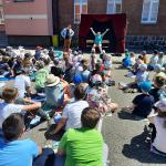 """Teatr """"Kurtyna"""" wnaszej szkole"""