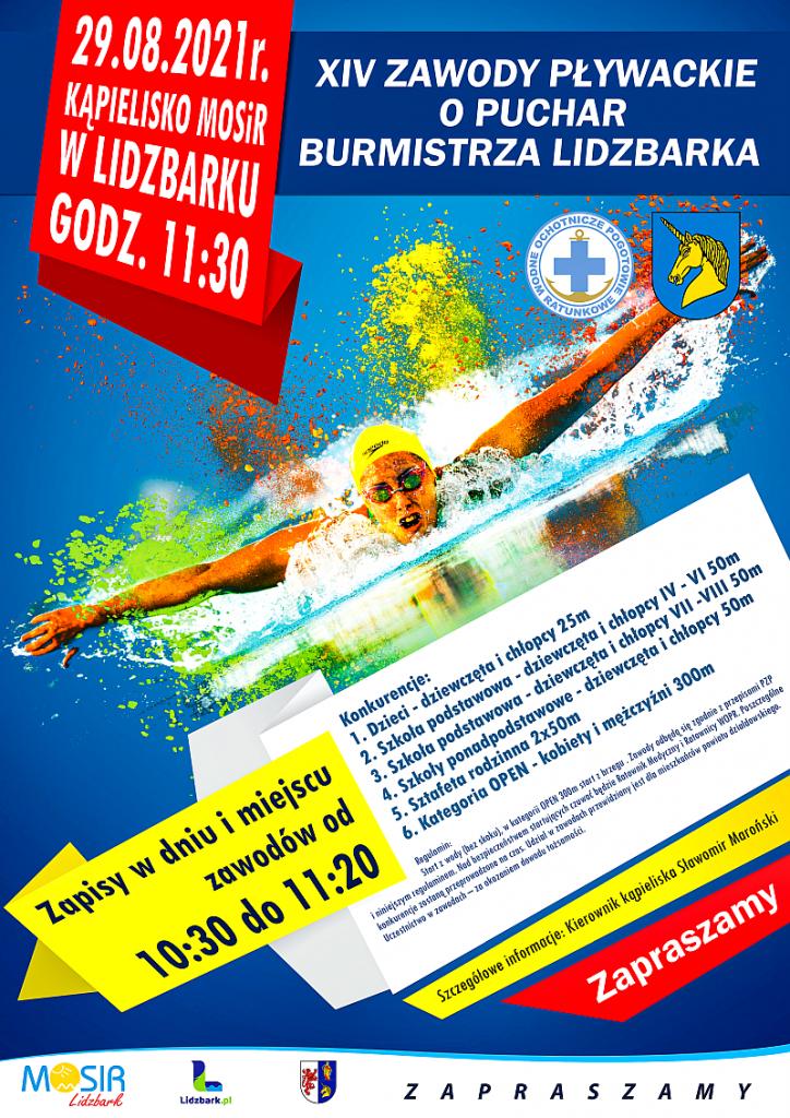 XIV zawody pływackie 2021