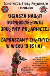 Nabór doMłodzieżowej Drużyny Pożarniczej